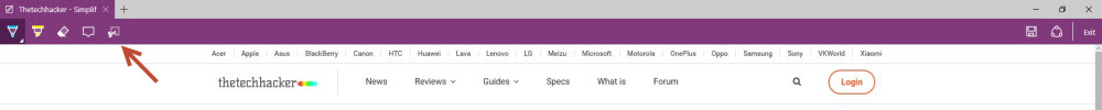 Step 3 To Take Screenshot In Microsoft Edge Browser