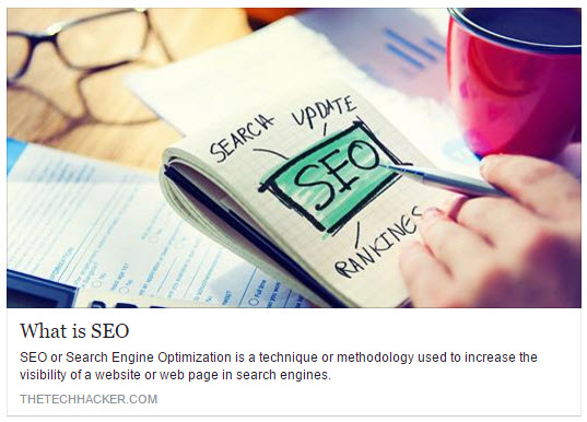 Title Tag in SEO Social Share Example