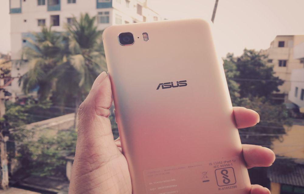 Asus Zenfone 3s Max Design