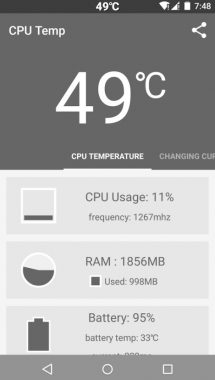 Battery Temperature In Android