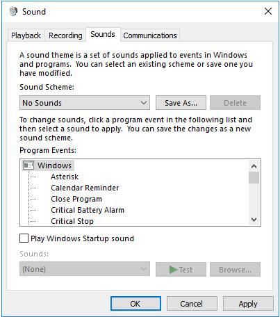 Configure Minimal Audio Effects