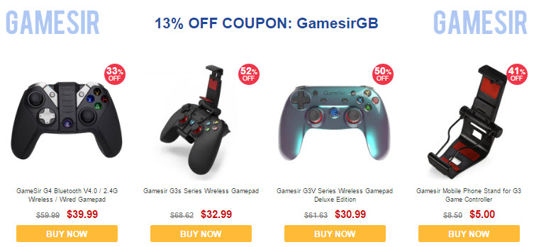 GearBest CES 2017 Sale Gamesir