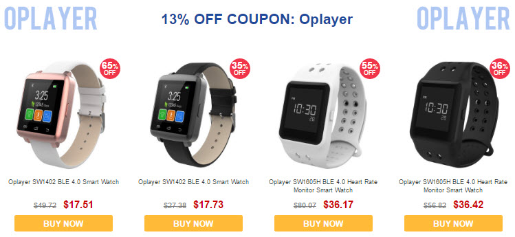 GearBest CES 2017 Sale Oplayer