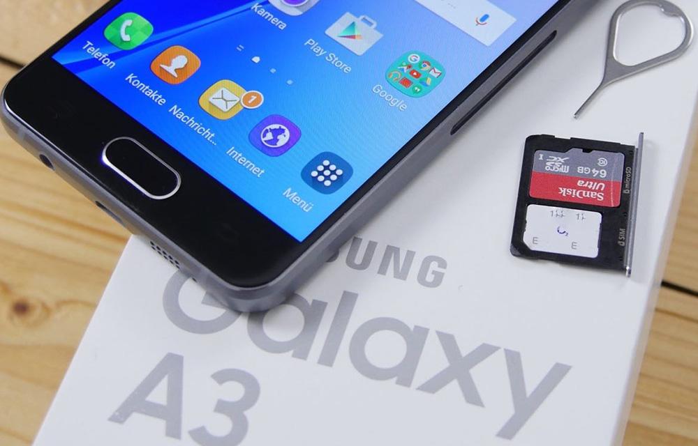 Samsung Galaxy A3 2017 Design