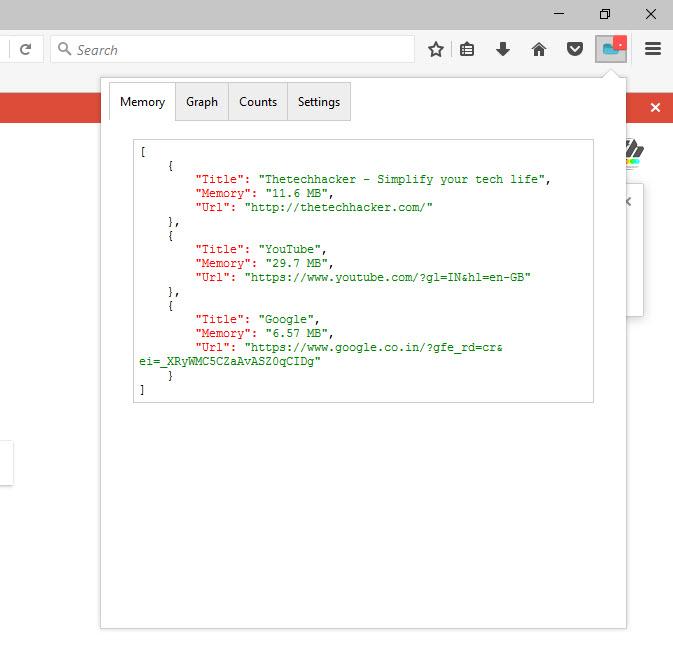 Tab Usage in Firefox