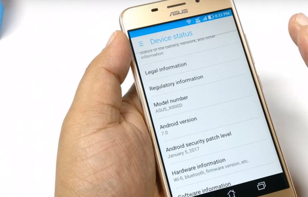 Asus Zenfone 3S Max Software