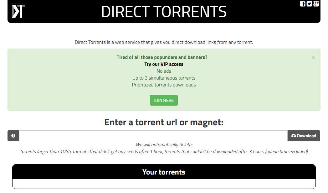 Direct Torrents