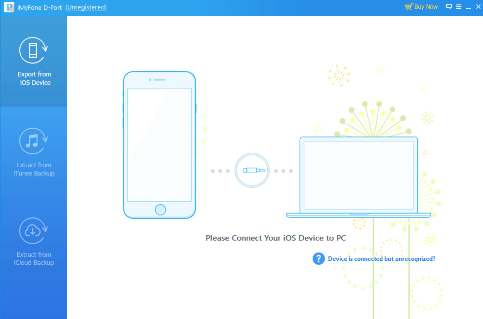 iMyFone D-Port iPhone Data Exporter