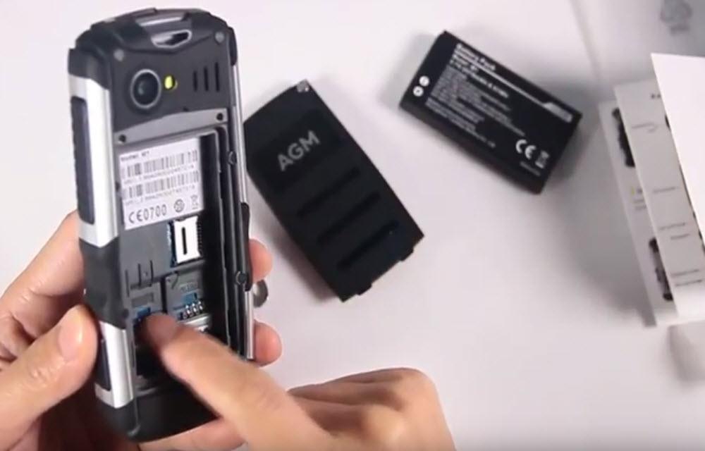 AGM M1 Battery Performance