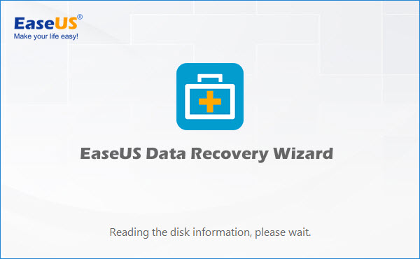 EaseUS Data Recovery Software Wizard Free 11.0 First Run