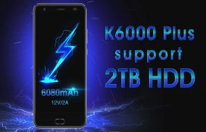 Oukitel K6000 Plus Supports 2TB Storage Using OTG Cable