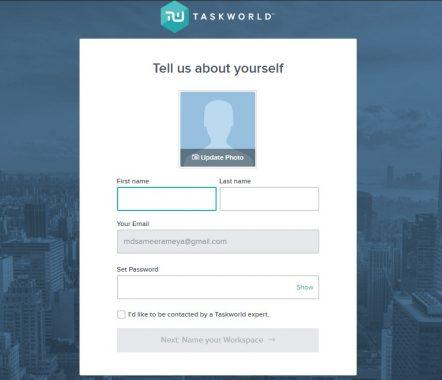 Taskworld Profile