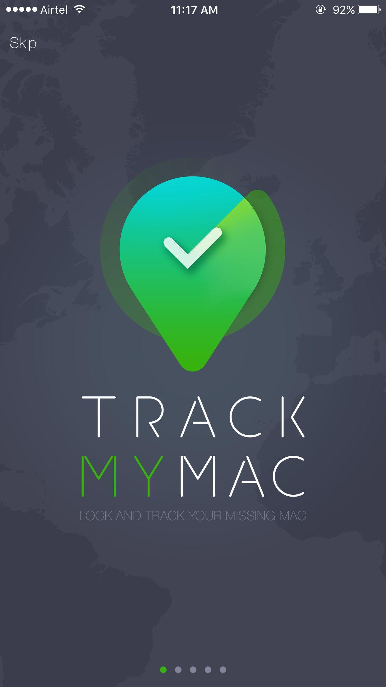 Track My Mac Home