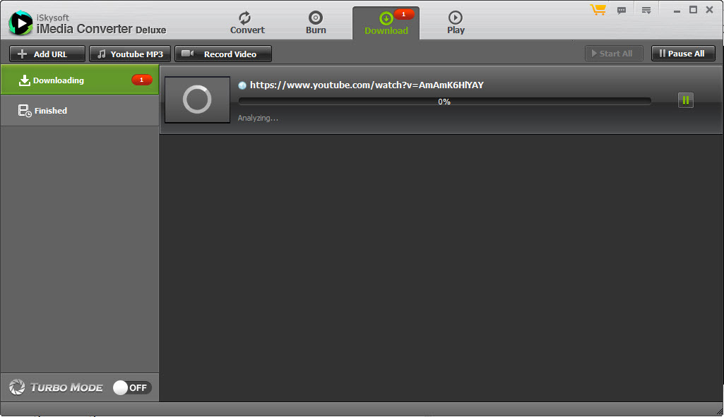 iSkysoft iMedia Converter Download Videos