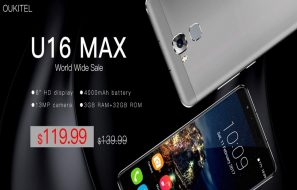 Oukitel U16 Max Global Discount Price Sale ($119.99)