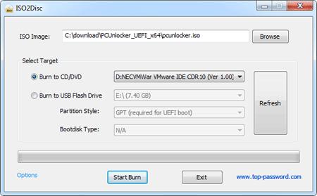 iso2disc PCUnlocker