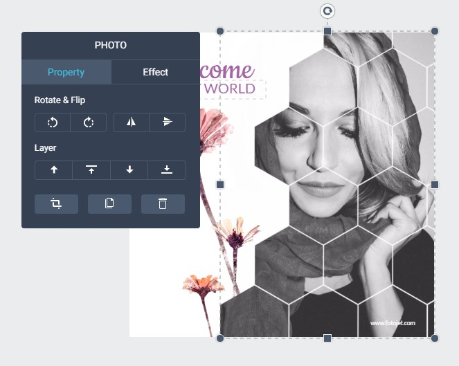 Fotojet Graphic Design Software Tools
