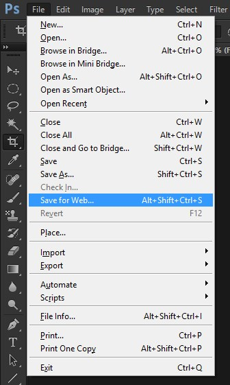 GIF in Photoshop 8