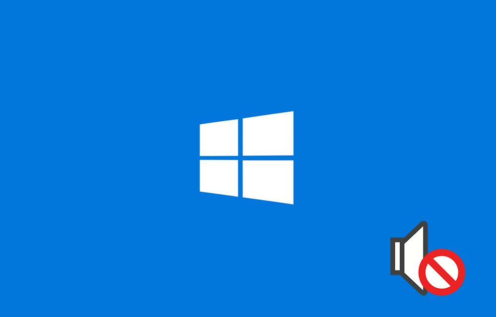 Windows 10 Sound Not Working Fix