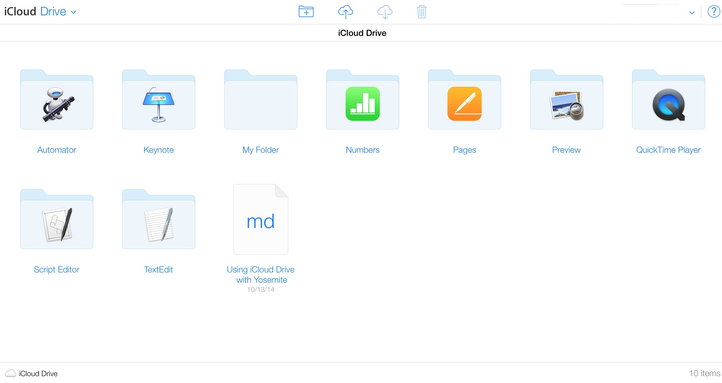 iCloud Drive Features and Interface