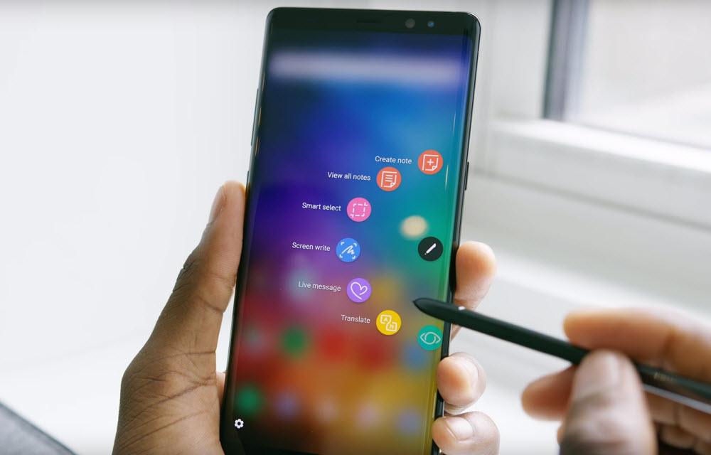 Samsung Galaxy Note 8 S-Pen