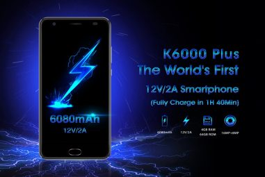 OUKITEL K6000 Plus With 12V Charger Has Amazing Capabilities