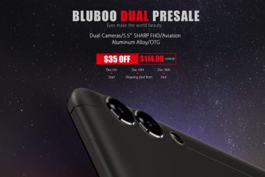 BLUBOO Dual Shows up in the Presales
