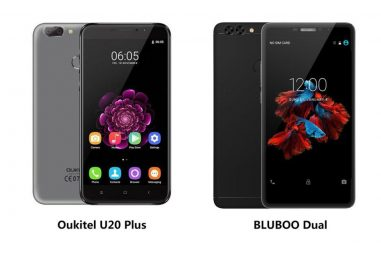 BLUBOO Dual vs Oukitel U20 Plus, Which Dual Camera is More Worthy of Purchasing?