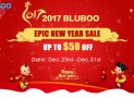 BLUBOO Fires up the 2017 New Year Sales with Significant Discounts