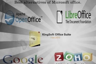 Best Alternatives Of Microsoft Office