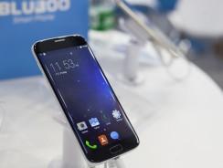 Bluboo Edge Fingerprint unlock speed compared with iPhone 7 Plus