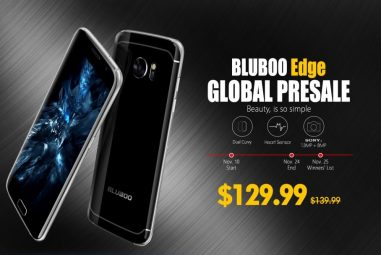 Bluboo Edge Presale Starting November 10th