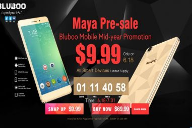 Bluboo Maya Presale starts – How to get Bluboo Maya for the price of $9.99?