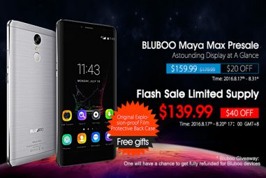 Bluboo Maya Max Is Available in the Global Pre-sales