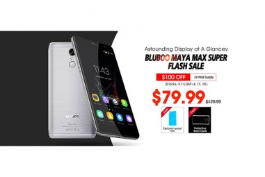 Bluboo Maya Max – Price $140 at New Super Flash Sale in September