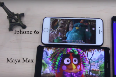 Bluboo Maya Max vs iPhone 6s – Battery Endurance Comparison Video