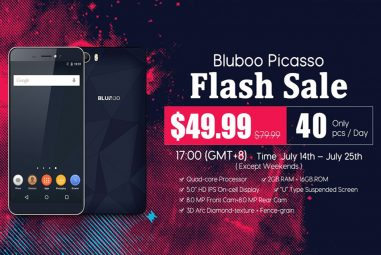 Bluboo Picasso at $49.99 on Limited Flash Sale on July 14-25