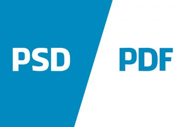 How to Convert PSD to PDF