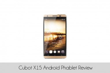 Cubot X15 Android Phablet Review