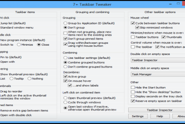 Disable Or Hide Start Button In Windows 8.1 With 7+ Taskbar Tweaker