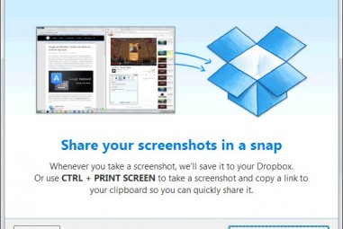 Dropbox Build Introduces Screenshot Sharing Feature
