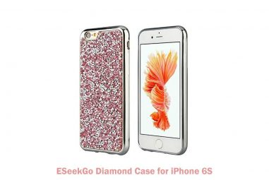 ESeekGo Diamond Case for iPhone 6S: Back Cover Case for iPhone
