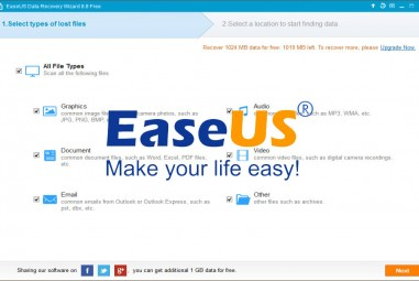 EaseUS Data Recovery Wizard Free 8.8 Review