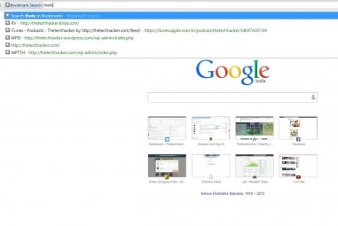 Easily Search Bookmarks In Chrome With Bookmark Search Extension