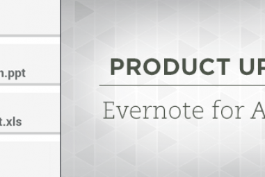 Evernote For Android Updated With Annotations And Improved Remainders