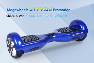 Megawheels Hoverboard With Samsung Battery Available At An Unbeatable Price