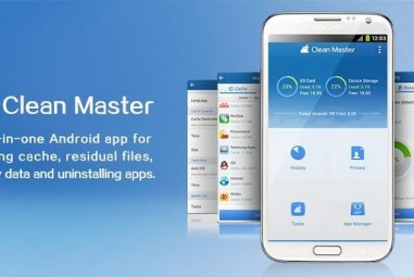Free Up Space on SD card using Clean Master for Android