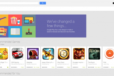 Google Launched A New Design For The Web Based Play Store