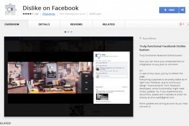 How To Add Dislike Button To Facebook In Google Chrome