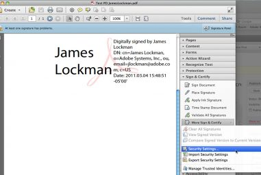 How to Create E-Signatures in Adobe Acrobat